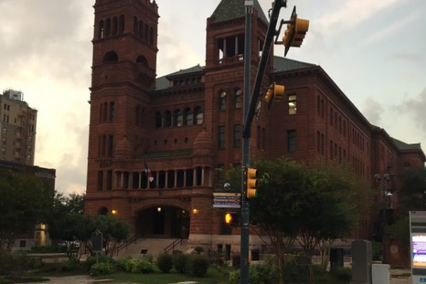 Bexar County Courthouse.