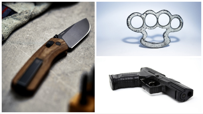 Dangerous weapons disqualify a defendant from safety-valve relief.